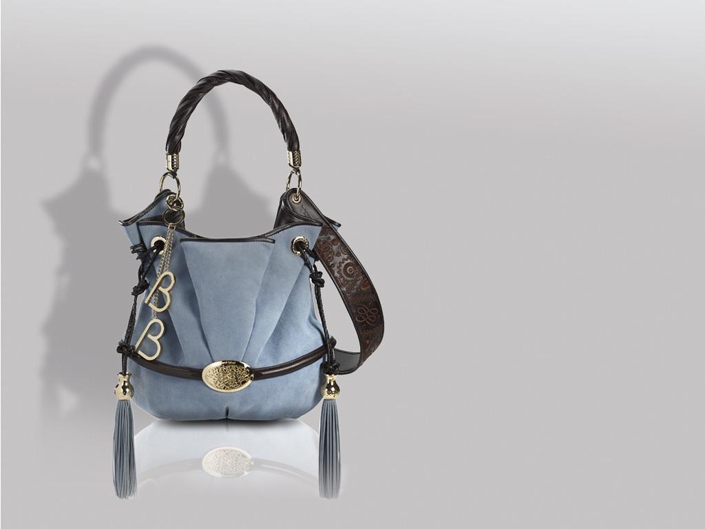 Lancel, Paris, geanta din alcantara