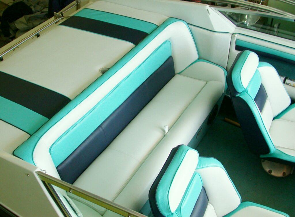 Piele barci iahturi Verde