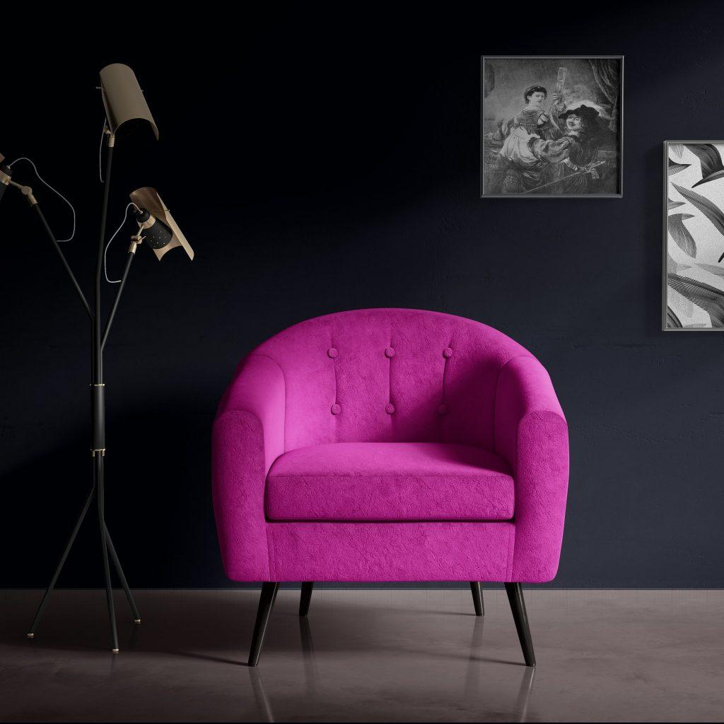 Stofa fucsia purple fuchsia