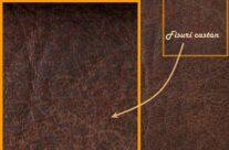 Piele vintage Brown HARLEY 405 antichizată